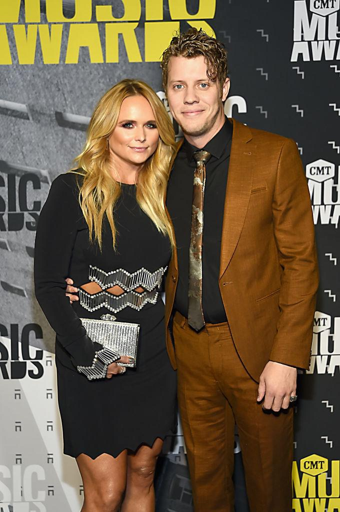 NASHVILLE, TN - JUNE 07: Singer-songwriters Miranda Lambert and Anderson East attend the 2017 CMT Music awards at the Music City Center on June 7, 2017 in Nashville, Tennessee. (Photo by Rick Diamond/Getty Images for CMT)