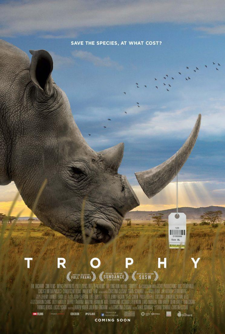 Poster for 'Trophy,' new documentary about big-game hunting and species preservation