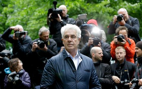 Max Clifford was serving an eight-year jail sentence for historic sex offences - Credit: AP