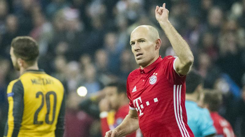 VIDEO: Robben scores stunning strike against Arsenal