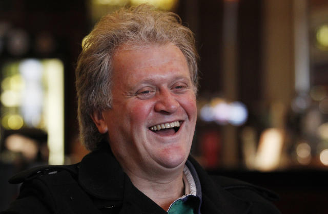 Tim Martin, chairman and founder of pubs group Wetherspoon. Photo: REUTERS/Suzanne Plunkett