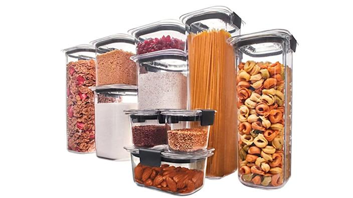 From pasta to cereal, these Rubbermaid containers can store it all.
