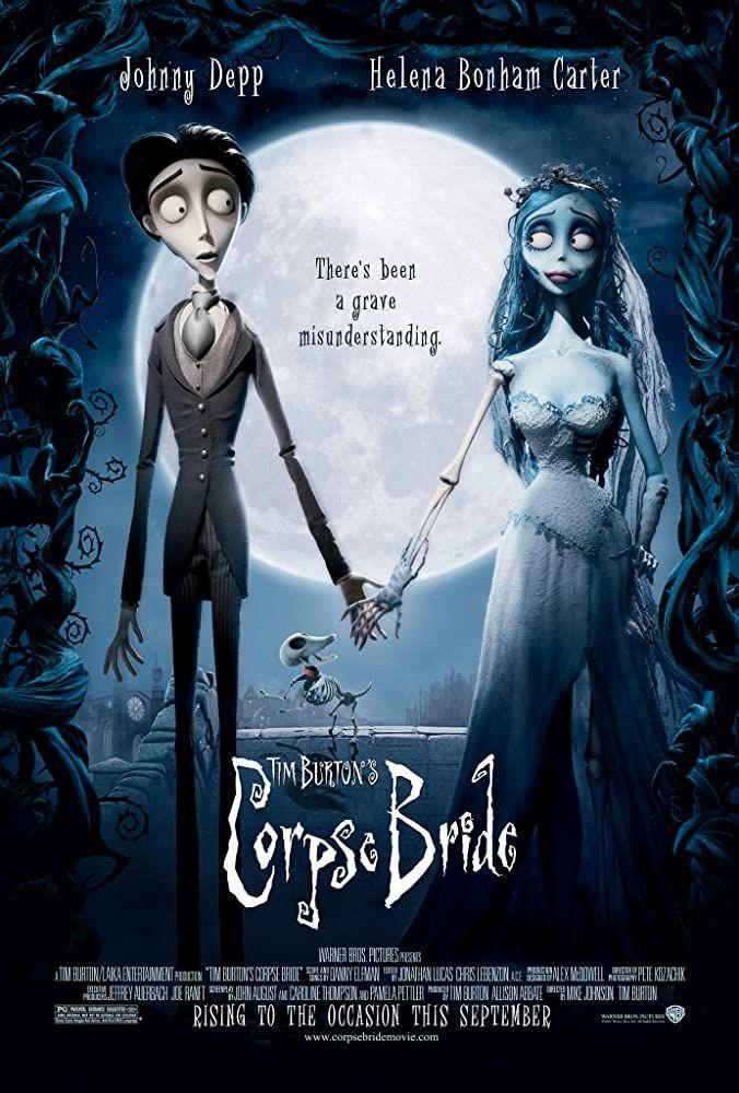"""<p>Another necessary Tim Burton entry. And a good one.</p><p><a class=""""link rapid-noclick-resp"""" href=""""https://www.amazon.com/Burtons-Corpse-Bride-Johnny-Depp/dp/B0091XEGTI/ref=sr_1_1?dchild=1&keywords=Corpse+Bride&qid=1593549500&s=instant-video&sr=1-1&tag=syn-yahoo-20&ascsubtag=%5Bartid%7C2139.g.32998129%5Bsrc%7Cyahoo-us"""" rel=""""nofollow noopener"""" target=""""_blank"""" data-ylk=""""slk:WATCH HERE"""">WATCH HERE</a></p>"""