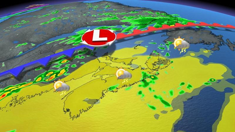 Cold front to trigger thunderstorms on sweltering East Coast