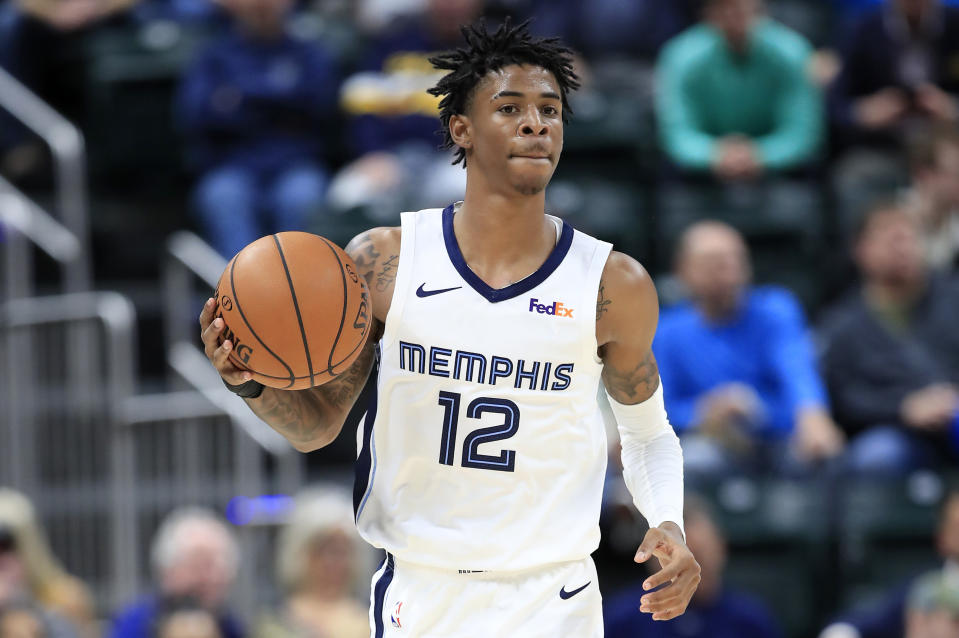 The Memphis Grizzlies' future is in good hands with Ja Morant. (Andy Lyons/Getty Images)