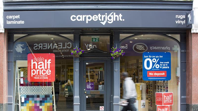 Carpetright formally agrees sale to hedge fund Meditor for £15.2m