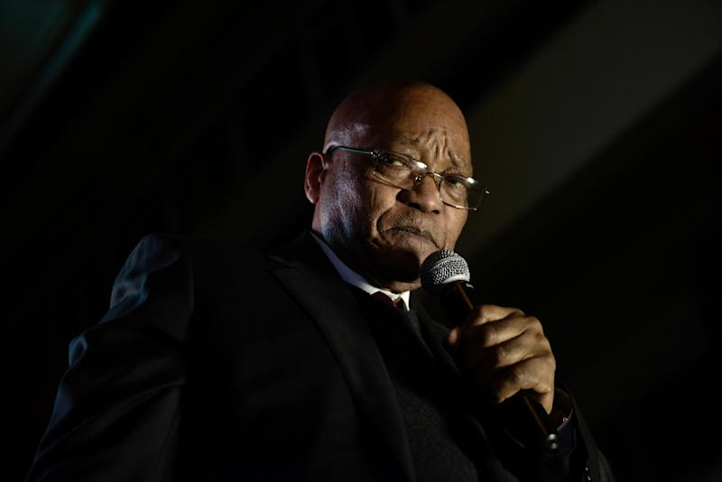Former South African President Jacob Zuma should learn in two weeks whether he will be prosecuted on 18 criminal charges related to alleged kickbacks on arms deals before he became president. (AFP Photo/PIETER BAUERMEISTER)