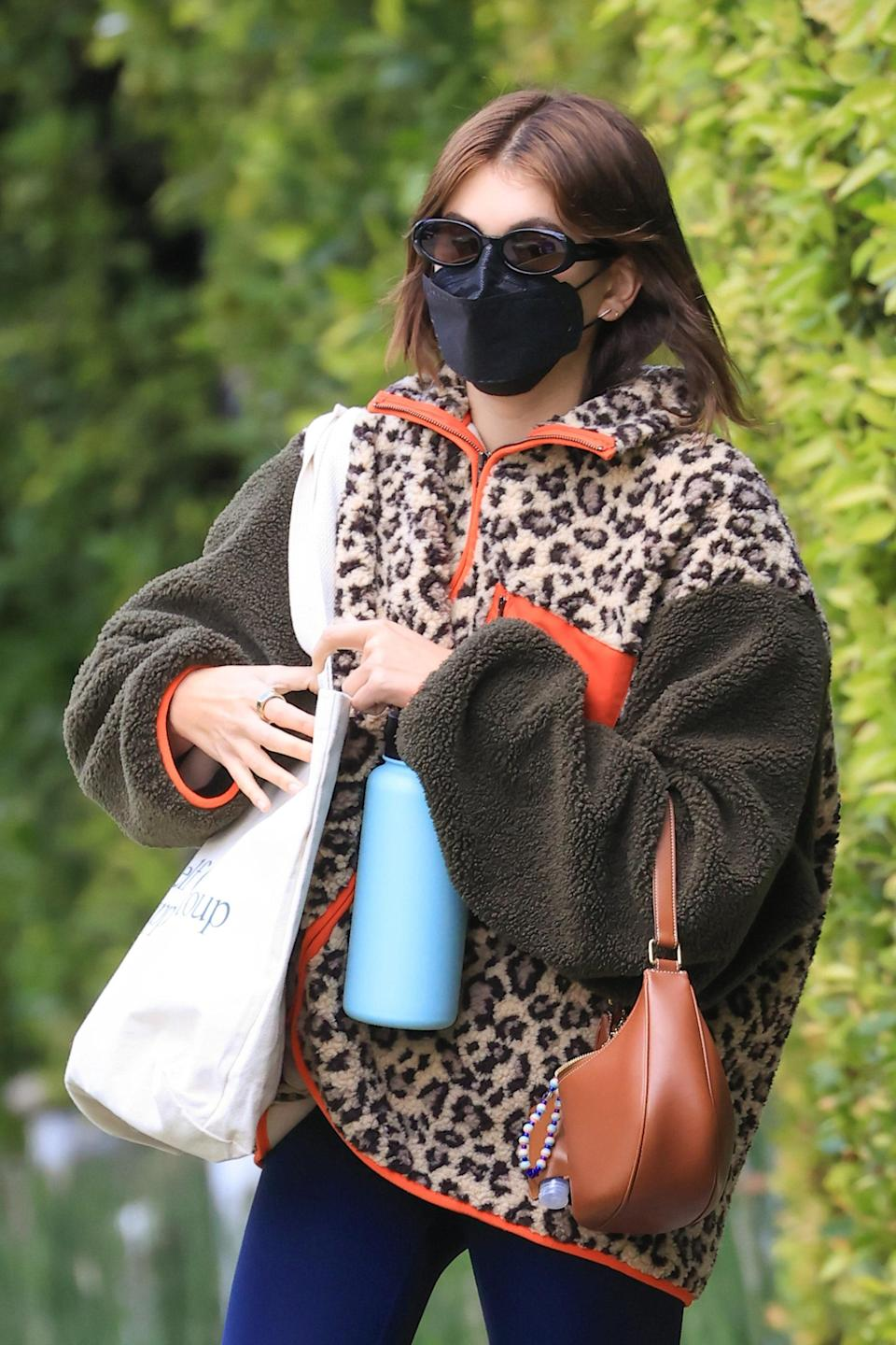 Again, who doesn't love a fleece? Extra points if it's leopard print.