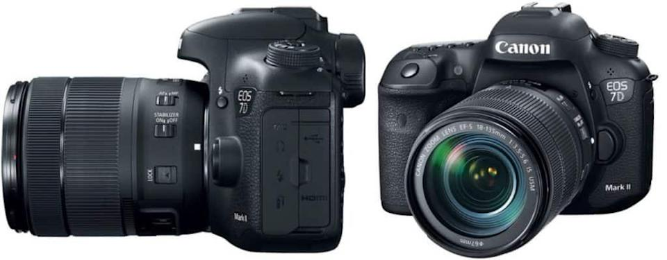 Canon EOS 7D Mark II DSLR Camera with 18-135mm f_3.5-5.6 IS USM Lens & W-E1 Wi-Fi Adapter