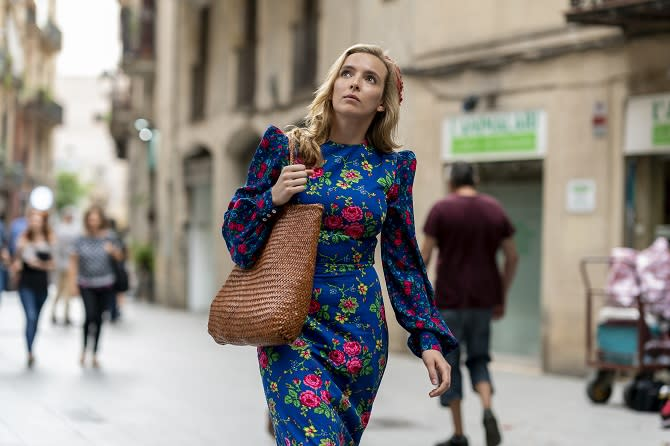 Killing Eve (Des Willie/BBCA; © 2019 Sid Gentle Films/BBC America, cortesía de HBO)