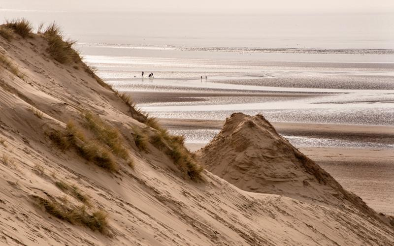 Formby is one of the best beaches in the north of England - getty