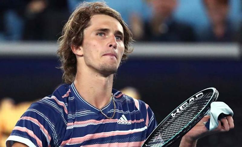 Alexander Zverev reached the semi-finals of Australian Open 2020. AP