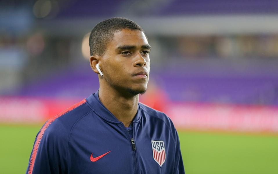Reggie Cannon said FC Dallas asked him to apologize for criticizing fans who booed and hurled objects over his and other players' anthem protests in August. (John Dorton/Getty Images)
