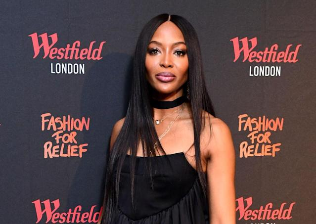 Naomi Campbell has been keeping fans updated on her travel precautions during the coronavirus update. (Getty Images)