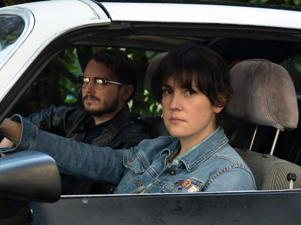 """Elijah Wood and Melanie Lynskey in """"I Don't Feel at Home in this World Anymore."""""""