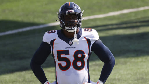 Broncos star Von Miller might have sustained serious ankle injury