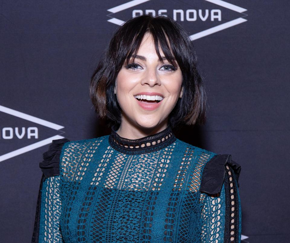 """<p>In 2015, Rodriguez co-starred as Ilse in a unique production of the musical <strong>Spring Awakening</strong>. Produced by Los Angeles's Deaf West Theatre (then transferring to Broadway), the production was bilingual in American Sign Language and English, with several deaf and hard-of-hearing performers alongside hearing cast members. To perform, all the cast members not familiar with ASL had to learn, including Rodriguez.</p> <p>""""<a href=""""http://signlanguageco.com/spring-awakening/"""" class=""""link rapid-noclick-resp"""" rel=""""nofollow noopener"""" target=""""_blank"""" data-ylk=""""slk:I did not know a stitch of sign language"""">I did not know a stitch of sign language</a> so at first it was I had to put the signs to the words and learn them as choreography,"""" she told The Sign Language Company. """"But then I started to learn what the words were.""""</p>"""