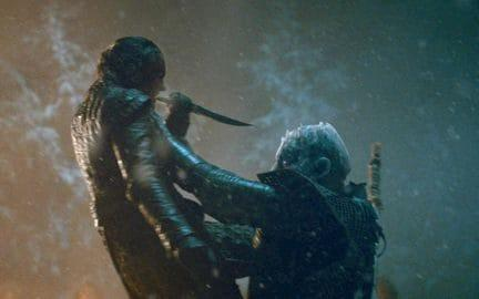 arya kills night king - Credit: HBO