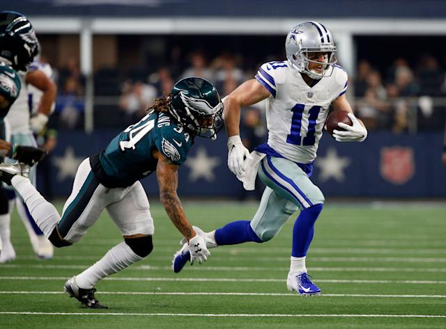 The Buffalo Bills reportedly have signed former Dallas Cowboys wide receiver Cole Beasley (AP Photo)