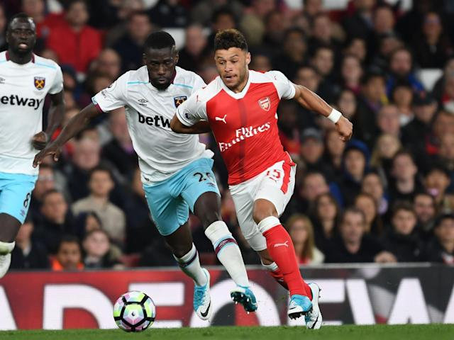 Oxlade-Chamberlain's contract is due to expire in summer 2018: Getty