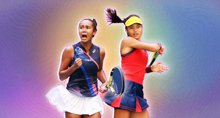 Emma Raducanu and Leylah Fernandez are part of an exciting movement in women's tennis. (Yahoo Sports)