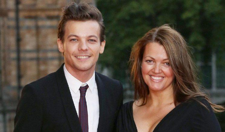Louis was incredibly close to his late mum.