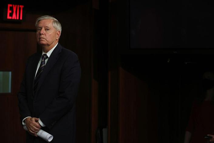 Senator Lindsey Graham has been vociferously opposed to eliminating the Senate's filibuster rules. (Getty Images)