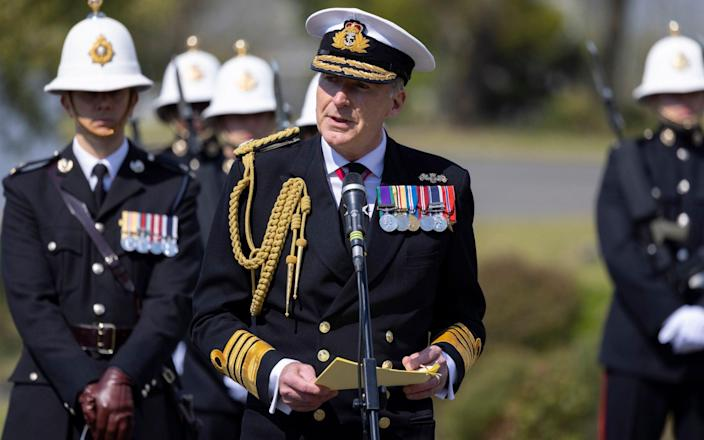"""Adml Radakin said Britain was committed to a """"free and open Indo-Pacific"""" - ROYAL NAVY"""