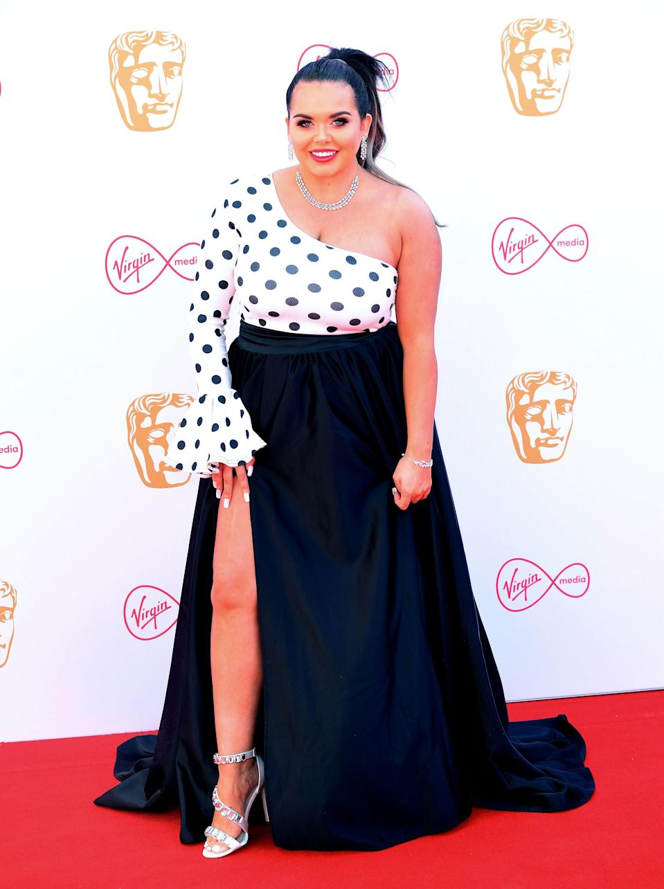 Moffatt on the red carpet for the BAFTA TV awards, held at the Royal Festival Hall in London in 2019 (PA)