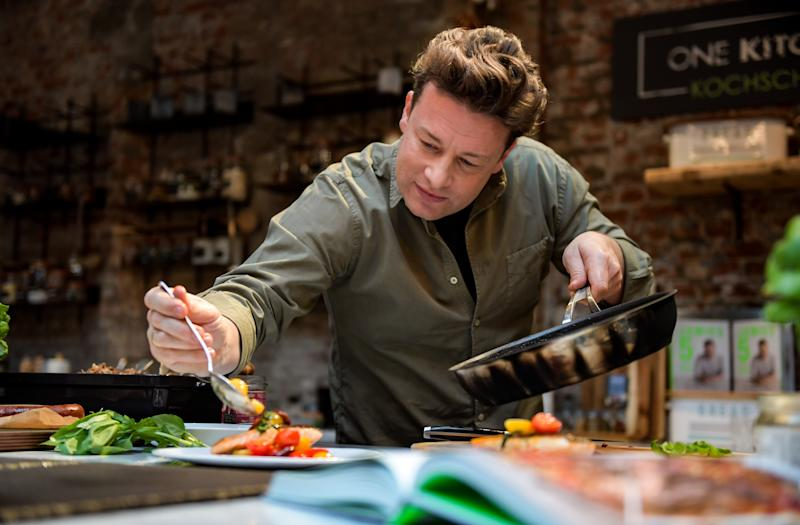 British chef Jamie Oliver has launched a new cookbook. (Getty Images)
