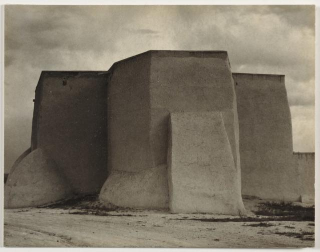 <p>Church, Rancho de Taos, N.M., 1931. (Photo: The Cleveland Museum of Art, Leonard C. Hanna Jr. Fund, 1983.202. © Aperture Foundation Inc., Paul Strand Archive) </p>