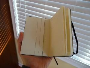 Empty notebook