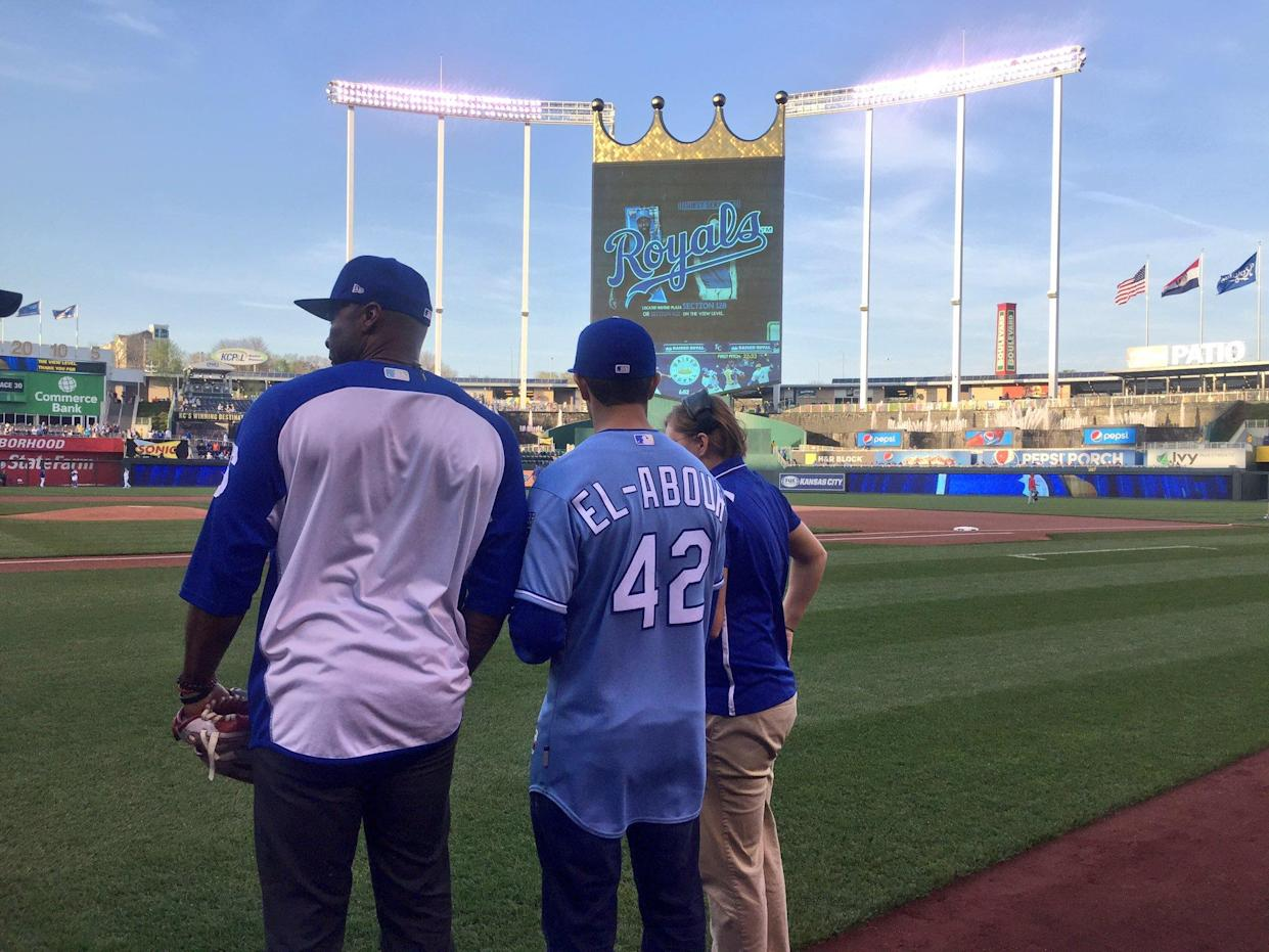 Tarik El-Abour is reportedly the first pro baseball player with autism. (Credit: Kansas City Royals)