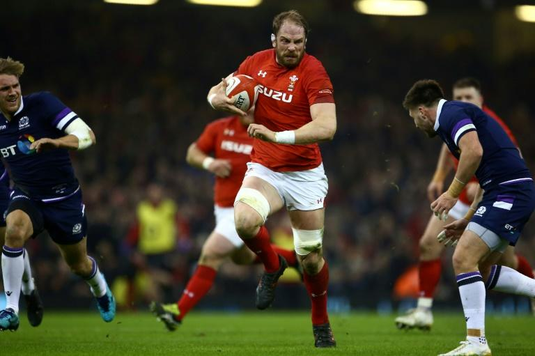 Standing firm: Wales skipper Alun Wyn Jones