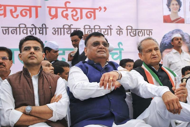 Will Rajasthan Cong Collapse Under Its Own Weight? Amid Political Slugfest, Here's What Numbers Say