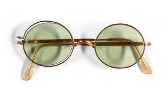 John Lennon's sunglasses sold at auction for £137,500 (Sotheby's)