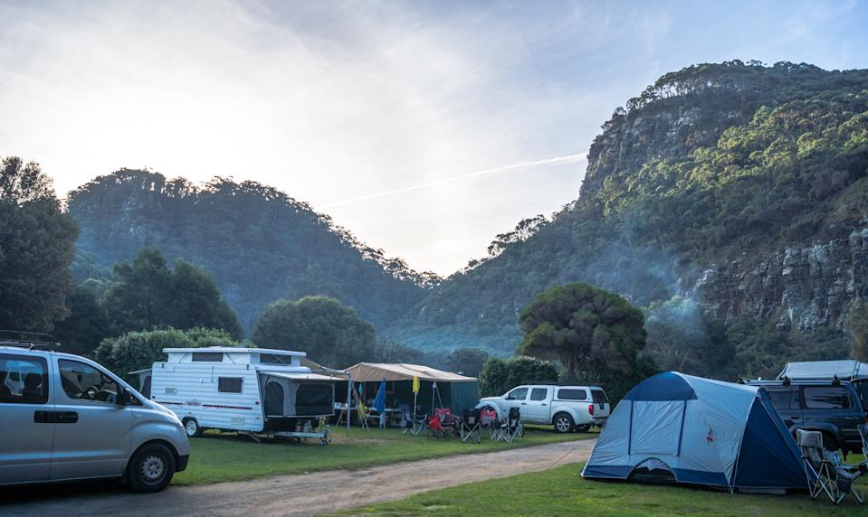 Ken Wilson plans to educate other caravaners on the road about safety and plans to visit caravan parks to do this. Source: Getty Images