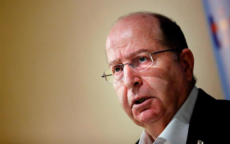 Moshe Ya'alon served in Netanyahu's government for seven years. Now he is forming his own party to run against him. - AFP or licensors