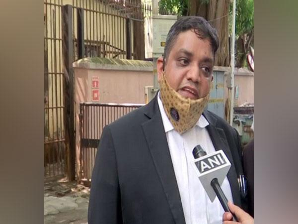 Rajendra Rathod, lawyer of accused Dipesh Sawant, the domestic help of late actor Rajput speaking to ANI on Wednesday in Mumbai. (Photo/ANI)