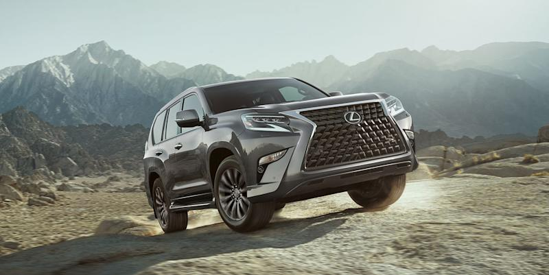 Lexus GX 460 three-row SUV adds bolder grille and more off-road tech