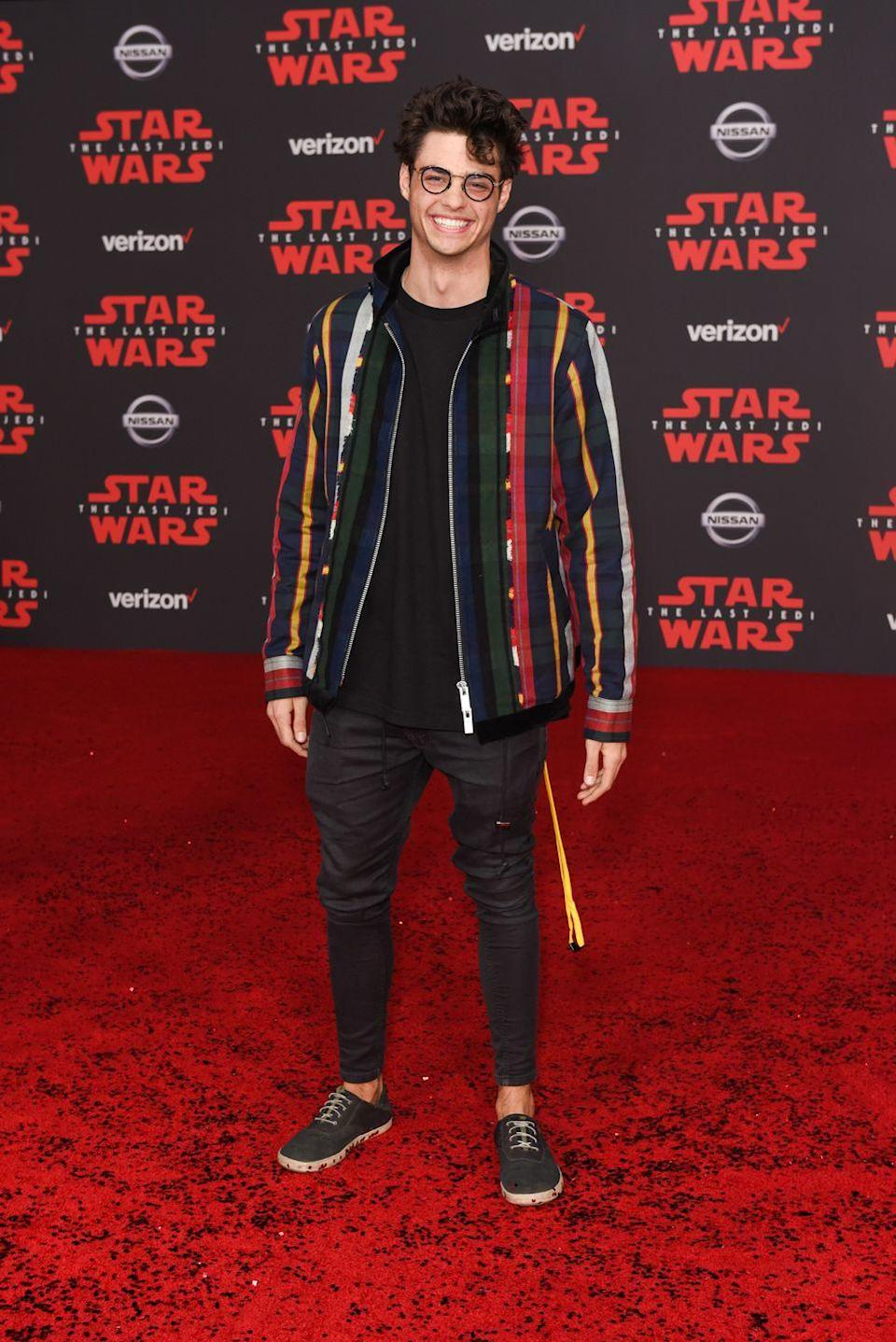 <p>Who knew that even Peter Kavinsky wore glasses?</p>