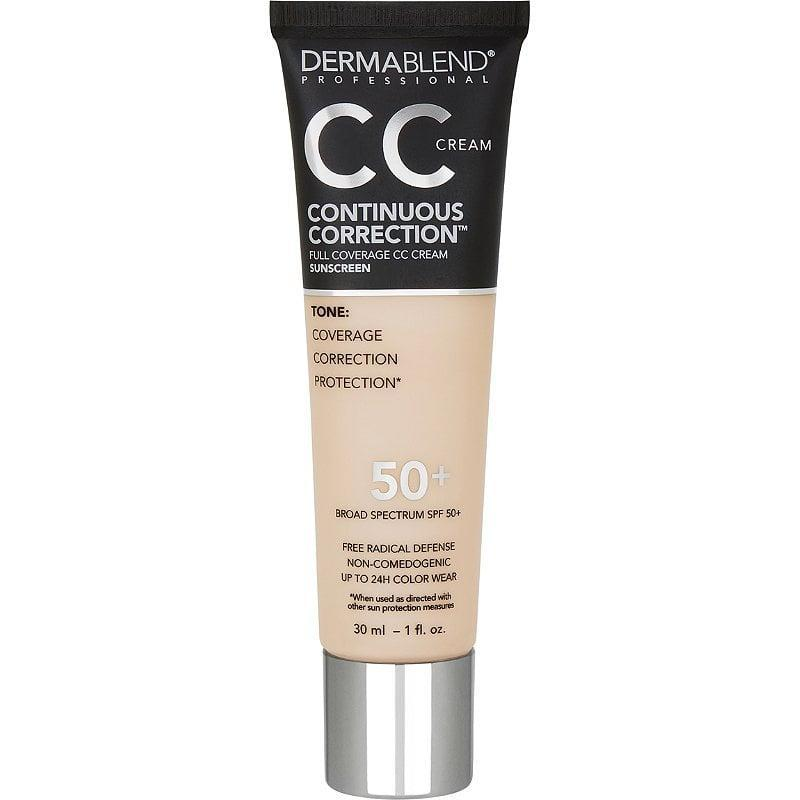 <p>The <span>Dermablend Continuous Correction Tone-Evening CC Cream SPF 50+</span> ($39) comes in 16 shades. It's a great option for people with sensitive skin, since it's so lightweight.</p>