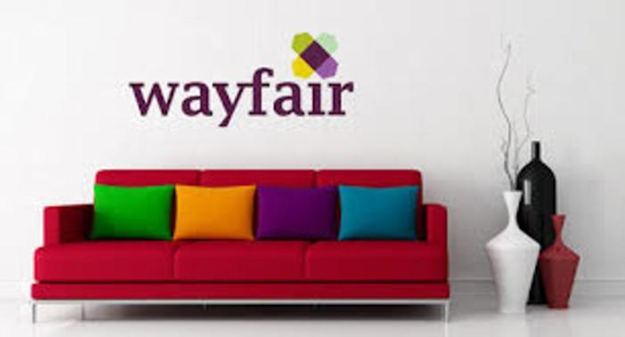 Promotional image for the Wayfair online furniture company.