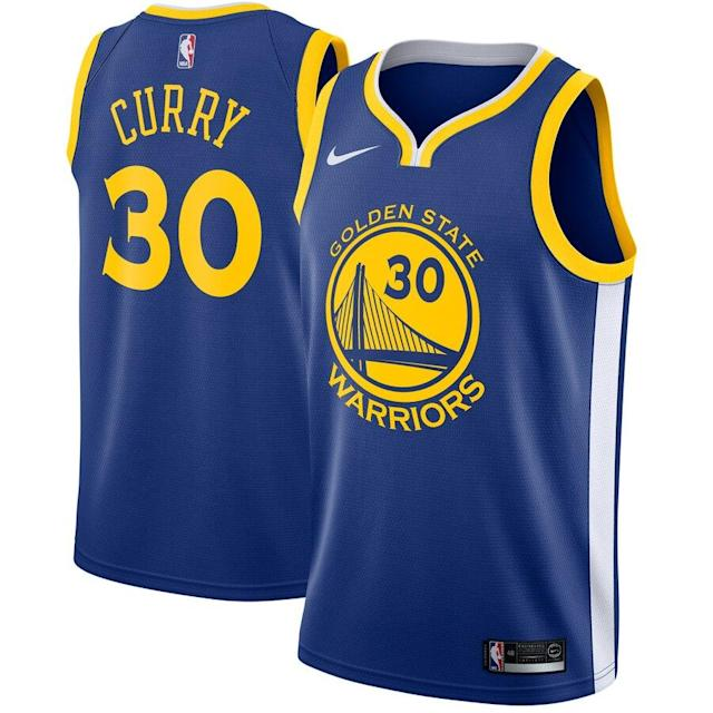 Curry Nike Swingman Jersey