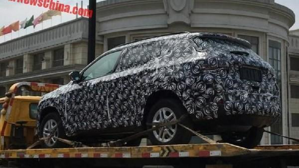 Jeep C Suv >> Jeep C Suv Spied In China