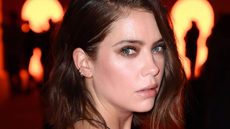 Ashley Benson Just Took the Suit Dress to a Whole New Level at the Balmain PFW Show