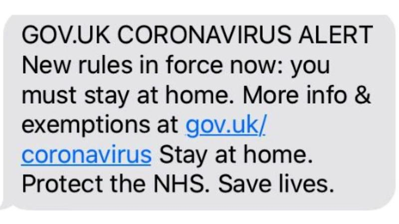 Coronavirus: Mobile Users To Receive Government Alert