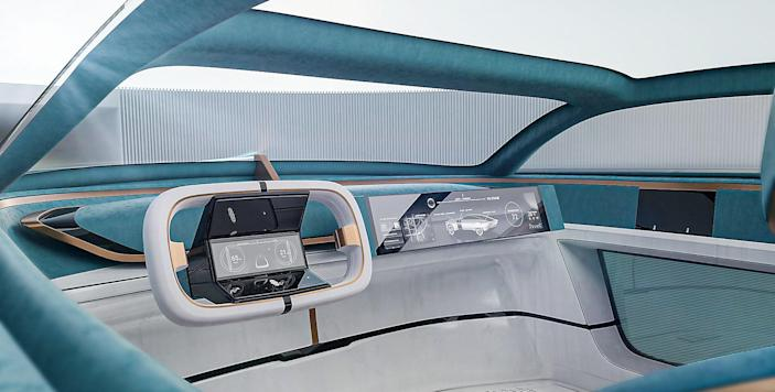 The cars were designed to anticipate the needs of consumers in 20 years, as well as the world they'll be living in.