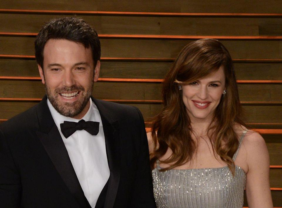 """<p>After years of attraction, Bennifer was official in 2004 and got married in 2005. Ten years and three kids later, they announced their breakup, but in 2016, they were seen going to couples' therapy together and <a href=""""https://people.com/celebrity/ben-affleck-and-jennifer-garner-call-off-the-divorce-for-now-sources/"""" rel=""""nofollow noopener"""" target=""""_blank"""" data-ylk=""""slk:reportedly called off their divorce"""" class=""""link rapid-noclick-resp"""">reportedly called off their divorce</a> in March 2017. They <a href=""""https://www.usmagazine.com/celebrity-news/pictures/jennifer-garner-ben-afflecks-divorce-everything-we-know-so-far/"""" rel=""""nofollow noopener"""" target=""""_blank"""" data-ylk=""""slk:finalized their divorce"""" class=""""link rapid-noclick-resp"""">finalized their divorce</a> in October 2018. </p>"""