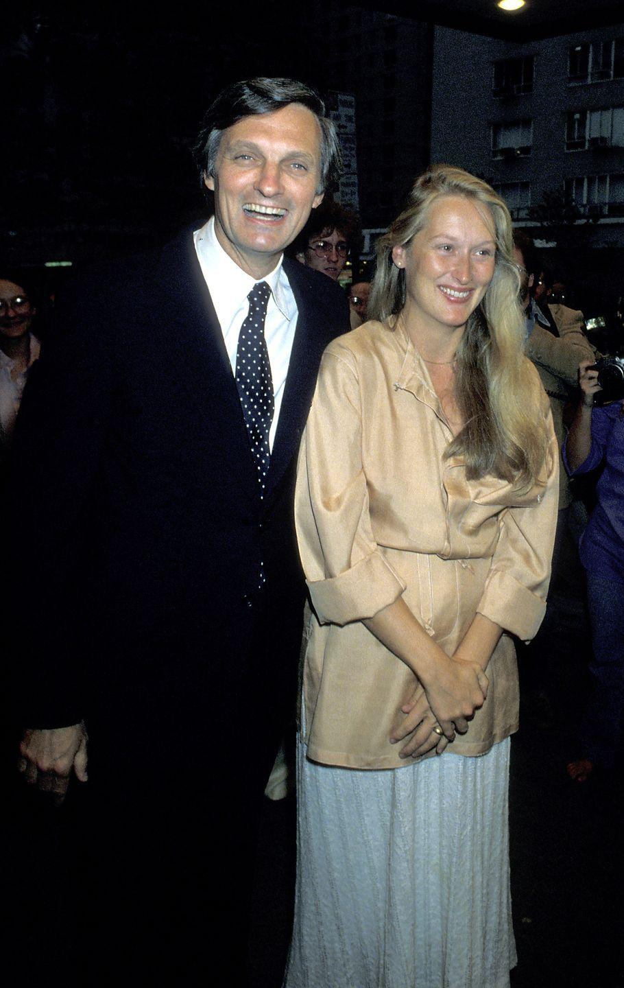 <p>Before Meryl Streep was one of the most respected names in film, the actress appeared in the 1979 film <em>The Seduction of Joe Tynan</em>. Here she is at the premiere with costar Alan Alda. A year later, the actress landed the lead role in <em>Kramer vs. Kramer </em>and the rest is history...</p>